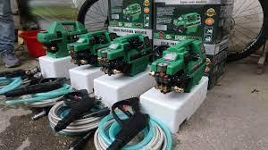 Máy rửa xe mini cho gia đình Ghuge mô tơ dây đồng,cảm ứng từ bền bỉ - Điện  Máy 3 Tốt