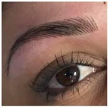 eyebrow tattoo vlog permanent makeup hair stroke technique you