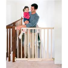 evenflo extra tall top of stairway baby gate  with swing