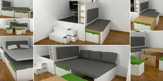 space saving transforming furniture. Adorable Transforming Furniture For Small Spaces Is Like Space Saving