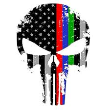 Looking for the best the punisher skull wallpaper? It S A Skin Punisher Skull Police Firefighter Military Thin Blue Red Green Line Us Sticker Decal America Flag Distressed Fire Police Military Service Large 8 Made In The U S A Buy Online In