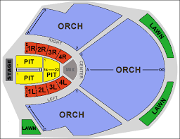 Chastain Park Amphitheatre Seating Chart Efficient Chastain Seating Picture Of Chastain Park Amphitheater