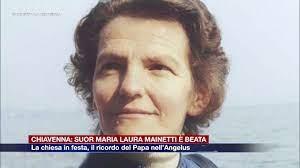 Etg - Chiavenna: Suor Maria Laura Mainetti è beata. Il ricordo del Papa  nell'Angelus - YouTube