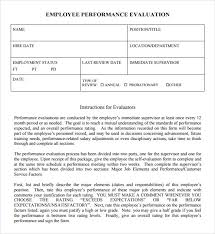 Template For Employee Performance Review Review Samples Performance Rome Fontanacountryinn Com