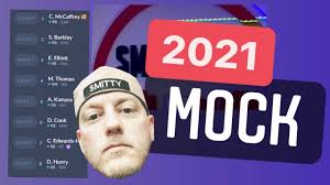 2021 Fantasy Football Mock Draft in ...