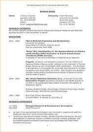 Academic Curriculum Vitae Template Custom Gallery Of Academic Curriculum Vitae Samples Business Proposal