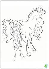 Small Picture Calypso Of Horseland Coloring Pages Coloring Pages For All Ages