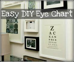6 Best Images Of Make Your Own Eye Chart - Diy Eye Chart Art, Custom ...