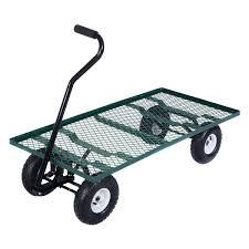 ebay farm and garden. amazon.com : wagon garden cart nursery steel mesh deck trailer heavy duty yard ebay farm and