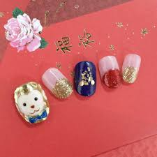 Best monkey nail art designs for Chinese New Year | Her World