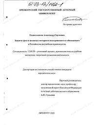 Диссертация на тему Защита прав и законных интересов  Диссертация и автореферат на тему Защита прав и законных интересов подозреваемого и обвиняемого в российском
