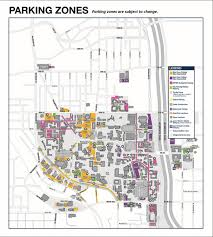 Georgia Tech Basketball Stadium Seating Chart Parking Maps Zones Parking Transportation Services