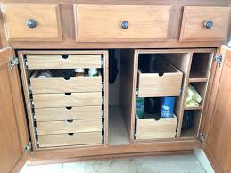 under sink drawers bathroom cabinet storage drawers hettich sink drawers