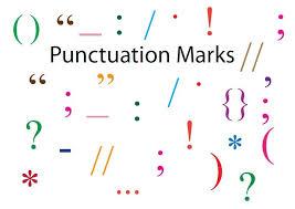 teaching punctuation punctuation
