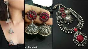 black metal jewellery. Modren Metal Latest Silver Jewellery Designs  Black Metal Ornaments In C