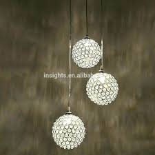 living winsome round glass ball chandelier bubble uk surprising large light luxury crystal hanging pendant lighting