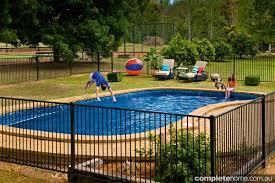 diy pool fencing