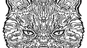 Small Picture Free Complicated Cats Printable Coloring Pages Complicated