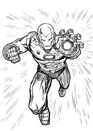 60 Disegni Di Iron Man Da Colorare Pianetabambiniit