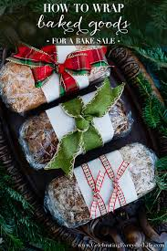 How to Wrap Baked Goods. Christmas BreadChristmas Food GiftsChristmas ...