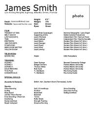 acting cv 101 beginner acting resume example template beginner acting resume sample