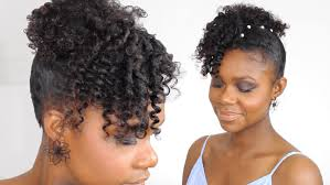 Cheveux Afro Tuto Coiffure Mariage Très Facile How To
