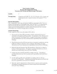 Remarkable Licensed Practical Nurse Resume No Experience For Lpn