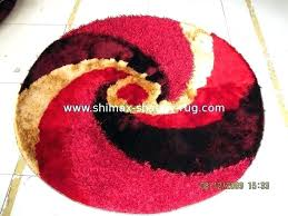 red circle rug red round rug circle rug furniture s now red