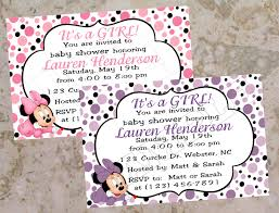 Free Mickey Mouse Baby Shower Invitations Amp Clipart Minnie Mouse