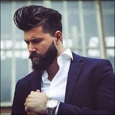 high and tight with length on top a k a the pompadour this is perfect for the men that want their cut fashion forward it is verse