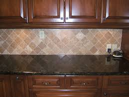 Granite Tiles For Kitchen Look How The Glass Tile Backsplash Contains All Of The Colors From