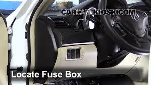 carcarekiosk com Honda Accord Fuse Box Location interior fuse box location 2009 2014 acura tl