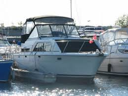 trojan yacht buy or sell used or new power boat motor boat in 36 trojan yacht cottage on the water port elgin marina