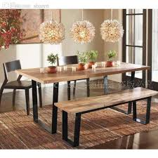 wrought iron and wood furniture. Wholesale American Country To Do The Old Wood Furniture, Wrought Iron Dining Table And Chairs Coffee Tables Retro Bar Stool Outdoor Settings Furniture