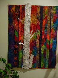 "3D tree. Lovely backgrounds quilting. Peggy Holt has a newly released book  called ""Dream Feathers"" 