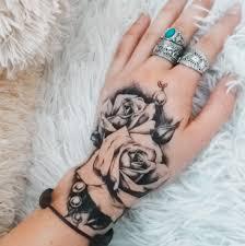 1ks Růžový Květ Tetování Rameno Rameno Tetování Tělo Umění Dočasné Tetování Vodotěsné Cb 3c At Vova