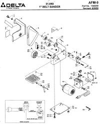 Array delta machinery u2013 service parts belt sander rh deltamachineryparts