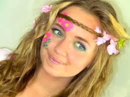 hippie hair makeup tutorial sÉrie carnaval alice golden locks hippie hair makeup
