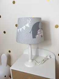Tafellamp Tafel Lamp Kinder Lampenkap Olifant Decoratie