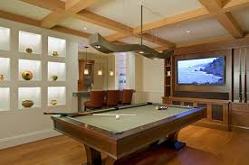 kitchen room pull table: modern pool tables family room eclectic with baseboards billiards billiards lighting