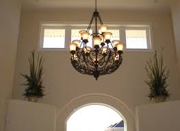 modern chandeliers for high ceilings contemporary great room with