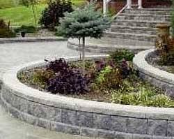 Small Picture How to Design Your Garden Wall Project Allan Block Retaining Walls