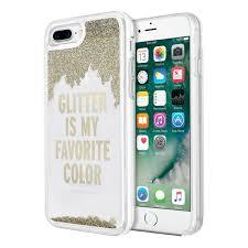 iphone 7 plus colors gold. apple iphone 7 plus / 8 incipio kate spade new york liquid glitter case iphone colors gold o