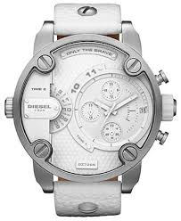 diesel watch men s white leather strap 51mm dz7265 macy s diesel watch men s white leather strap 51mm dz7265 macy s