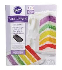 cake pan set 5 pkg 6 u0022