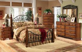 iron bedroom furniture sets. awesome design ideas using rectangular brown wooden nightstands and iron headboard bedroom furniture sets