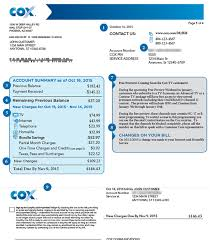 Free InvoiceCom Adorable How To Read Your Cox Bill