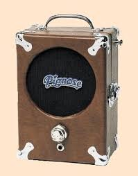 the unique guitar blog the pignose amp the popularity of the pignose soared it was cute its one pig nose volume knob and tan vinyl covering in addition it was not expensive