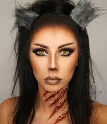werewolf makeup makeup