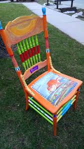 cool funky furniture. hand painted prrrrfect chair by carolynu0027s funky furniture cool